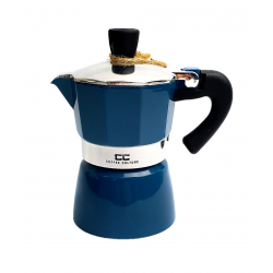 Blue Coffee Maker 1 cup