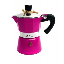 Pink Coffee Maker 1 cup
