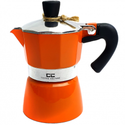 Orange Coffee Maker 1 cup