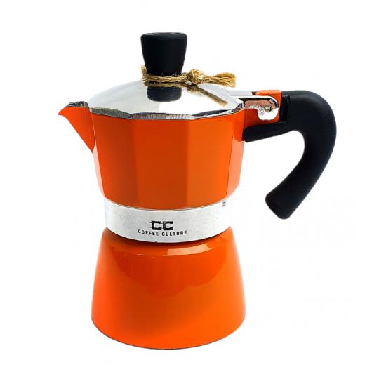 Orange Coffee Maker 1 cup
