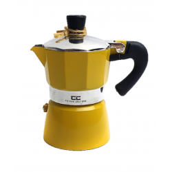 Yellow Coffee Maker 1 cup