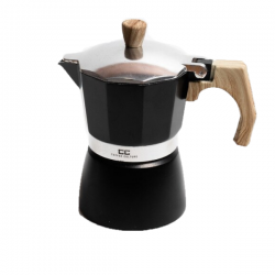 Black Coffee Maker 3 cup