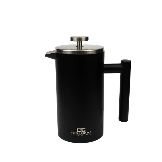 800ml Matte Black Stainless Steel French Press / Plunger
