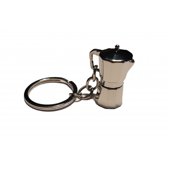 Coffee Pot Keychain
