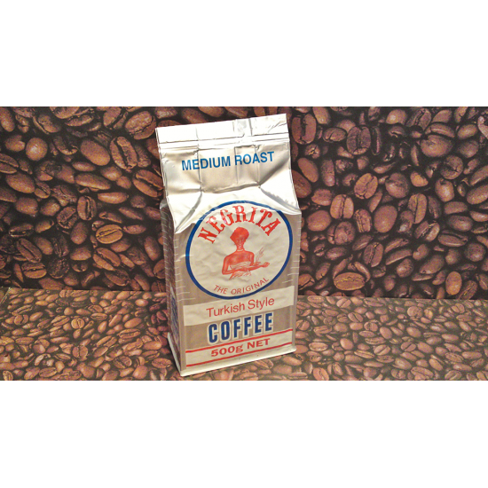 Negrita Turkish Style Medium Roast 500g