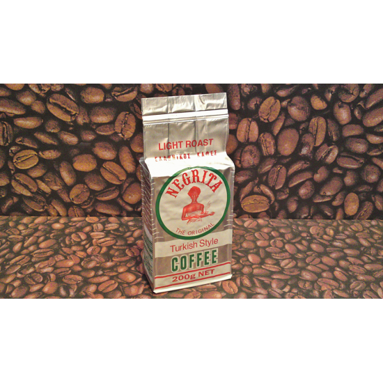 Negrita Turkish Style Light Roast 200g